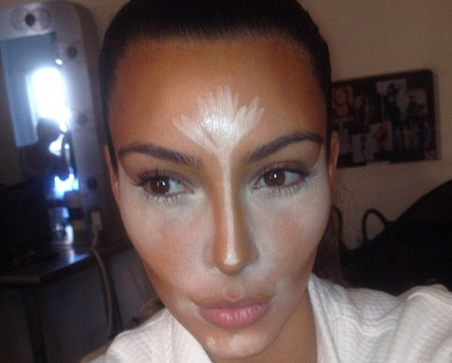 Has anyone told Kim Khardashian about the 5.2 Make up Diet?